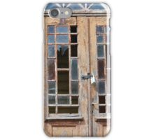 Old doors iPhone Case/Skin