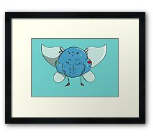 Buff Navi Framed Print