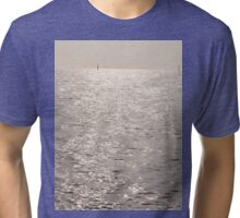 Shimmering Sea View Tri-blend T-Shirt