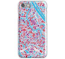 Vienna City Map iPhone Case/Skin