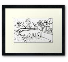 Balmora Framed Print