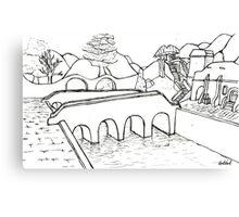 Balmora Canvas Print