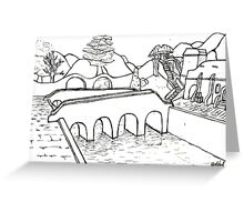 Balmora Greeting Card