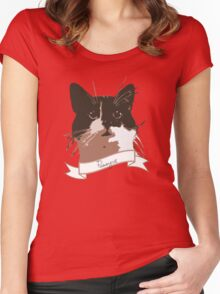 Catsy Women's Fitted Scoop T-Shirt