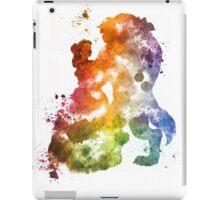 Beauty & The Beast Watercolour Design iPad Case/Skin