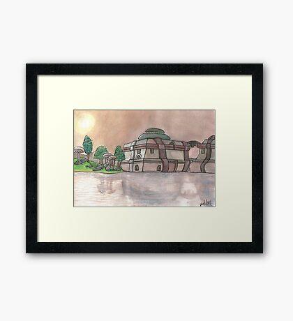 Vivec City Framed Print