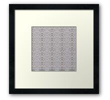 Cryptric Cool Framed Print