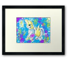 Pokemon - Manectric (watercolour) Framed Print