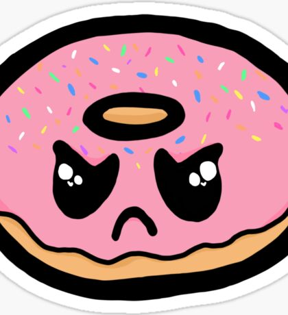 Angry Doughnut - RC Collection  Sticker