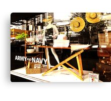 Summer at the Army and Navy  Canvas Print