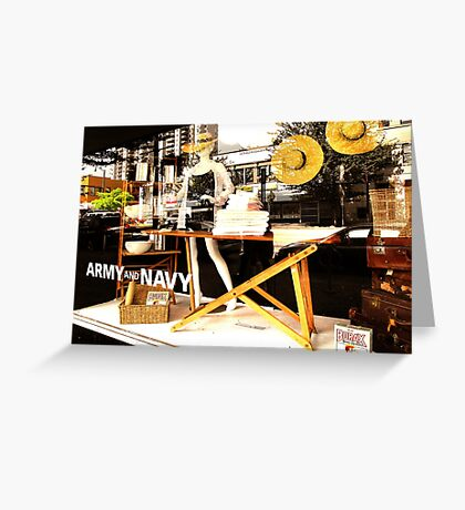 Summer at the Army and Navy  Greeting Card
