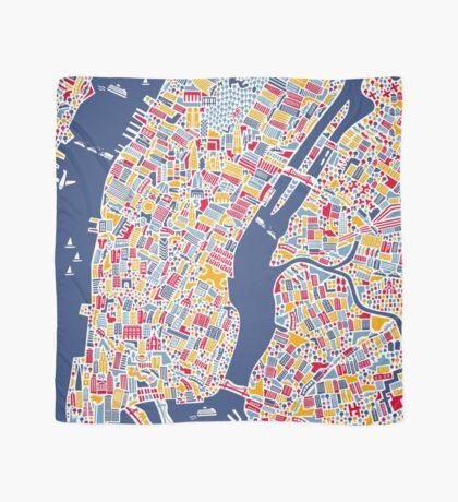 New York City Map Scarf