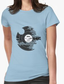 Star Wars - Death Star Vinyl Womens Fitted T-Shirt