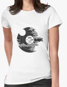 Star Wars - Death Star Vinyl Womens Fitted T-Shirt