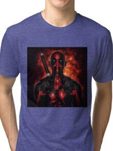 Classic Superhero 2 Tri-blend T-Shirt