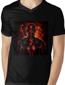 Classic Superhero 2 Mens V-Neck T-Shirt