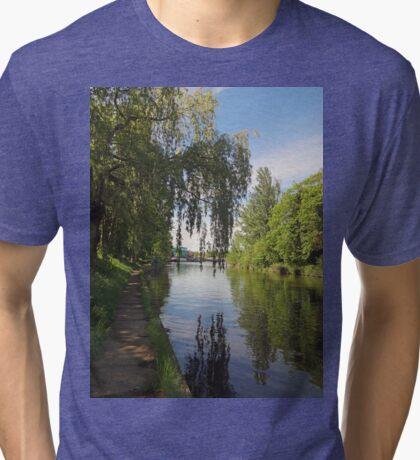River Thames, Windsor UK Tri-blend T-Shirt