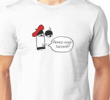 Aimez-vous l'accent? - Funny French Music Cartoon Unisex T-Shirt
