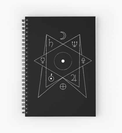 Planets fascination  Spiral Notebook