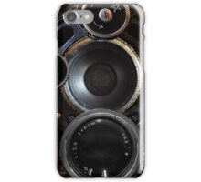 Vintage Camera Photography Lenses iPhone Case/Skin