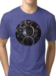 Vintage Camera Photography Lenses Tri-blend T-Shirt