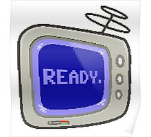 Commodore 64 Monitor Screen TV Poster