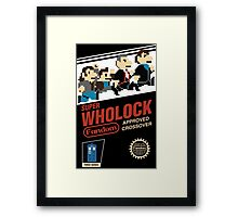 Super Wholock - Cartridge Framed Print