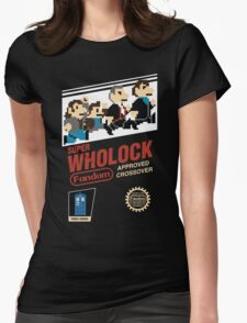 Super Wholock - Cartridge Womens Fitted T-Shirt