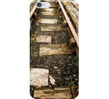 Old tracks  iPhone Case/Skin