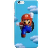 Mario jump iPhone Case/Skin