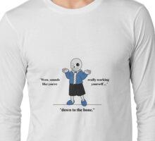 Sans - Pun Long Sleeve T-Shirt