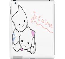Kittens love iPad Case/Skin