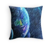 Far out there Throw Pillow