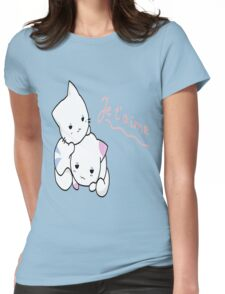 Kittens love Womens Fitted T-Shirt