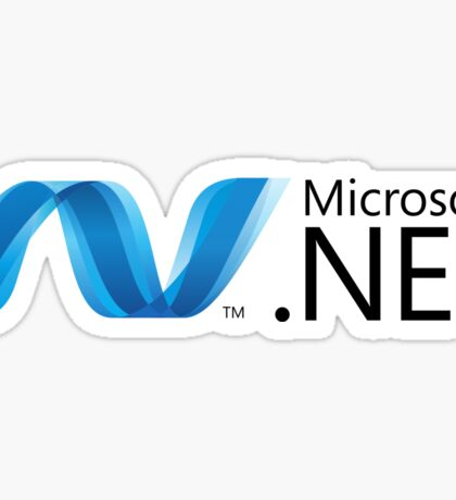 Microsoft .NET Sticker