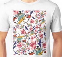 Klimt Inspired Asia Unisex T-Shirt