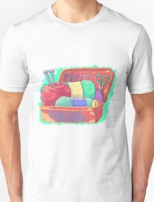 Knitting Enthusiast Unisex T-Shirt
