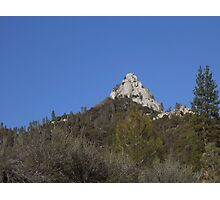 Moro Rock in the Sequoia National Forest Photographic Print
