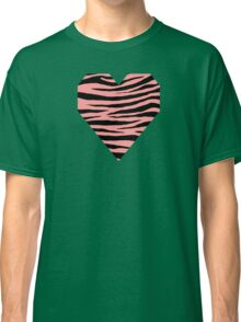 0376 Light Salmon Pink Tiger Classic T-Shirt