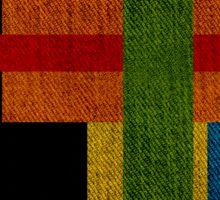 fabrics color Sticker