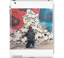 Photographer at work iPad Case/Skin