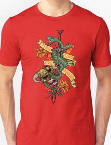 Time Flows Ever Onward T-Shirt