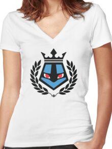 Luke Fighter Women's Fitted V-Neck T-Shirt
