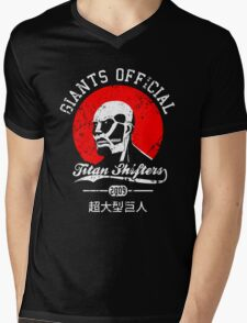 Giants Official Mens V-Neck T-Shirt