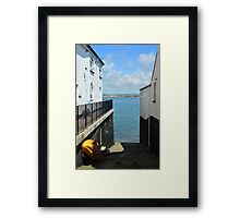 View to the Ocean Framed Print
