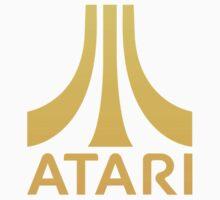 Atari logo gold Baby Tee
