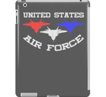 United States Air Force Red, White, & Blue Fighter Jets iPad Case/Skin