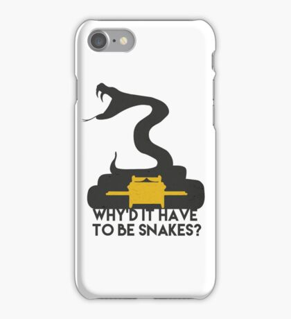 Why'd it have to be Snakes? iPhone Case/Skin