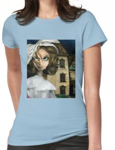 Dollhouse  - Gothic Art Womens Fitted T-Shirt