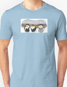 Super'cat'ural - Neko Atsume kitty collector x Supernatural Unisex T-Shirt
